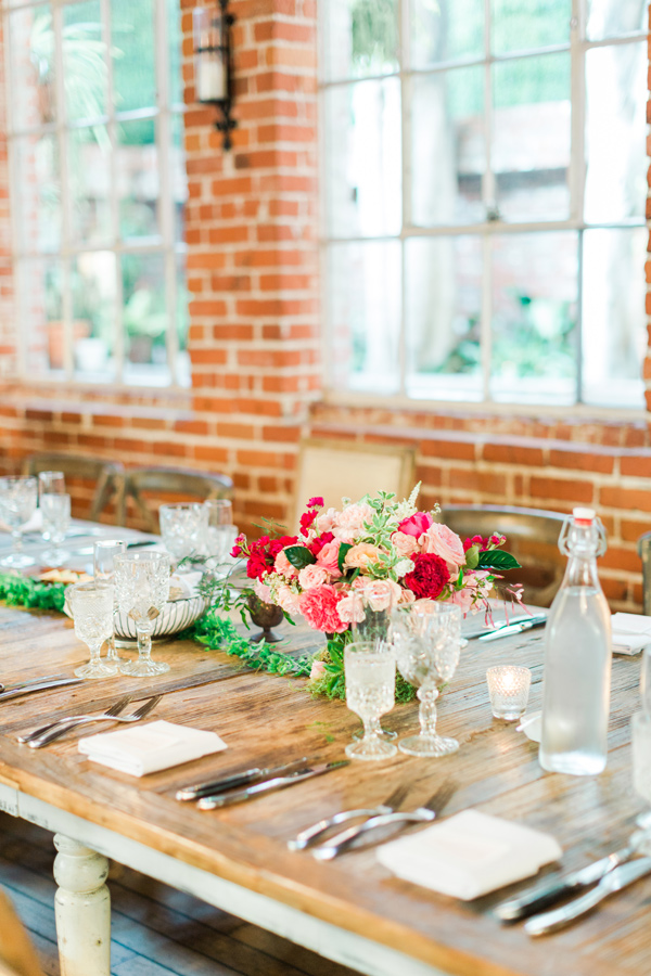 bright and airy reception - photo by Valorie Darling Photography http://ruffledblog.com/floral-filled-carondelet-house-wedding