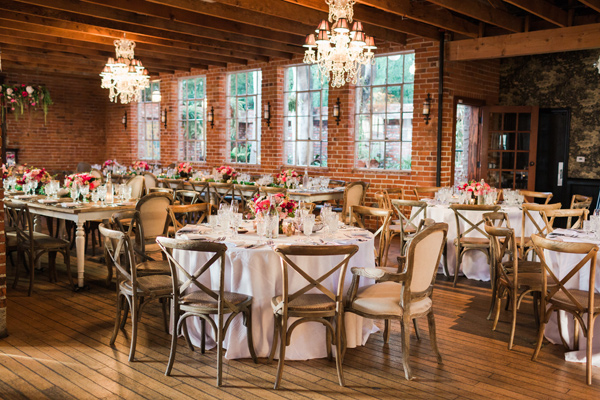 Floral-Filled Carondelet House Wedding - photo by Valorie Darling Photography http://ruffledblog.com/floral-filled-carondelet-house-wedding