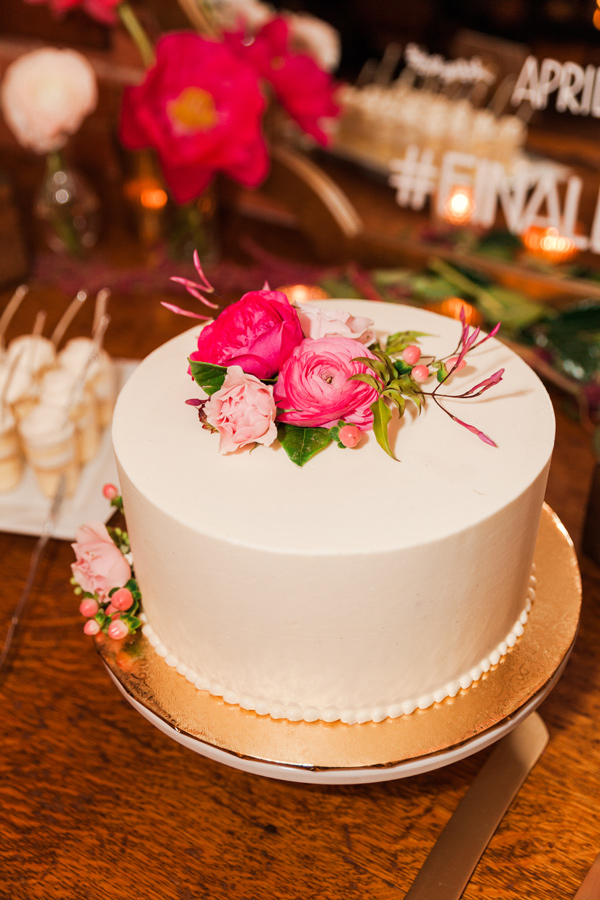 classic wedding cakes - photo by Valorie Darling Photography http://ruffledblog.com/floral-filled-carondelet-house-wedding