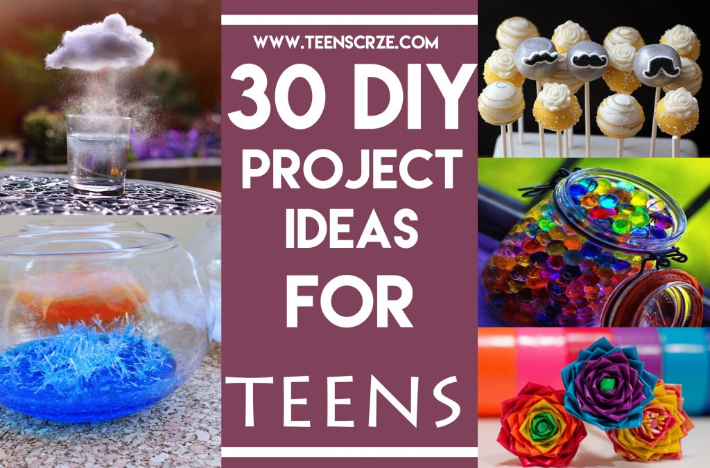 30 diy project ideas for teens