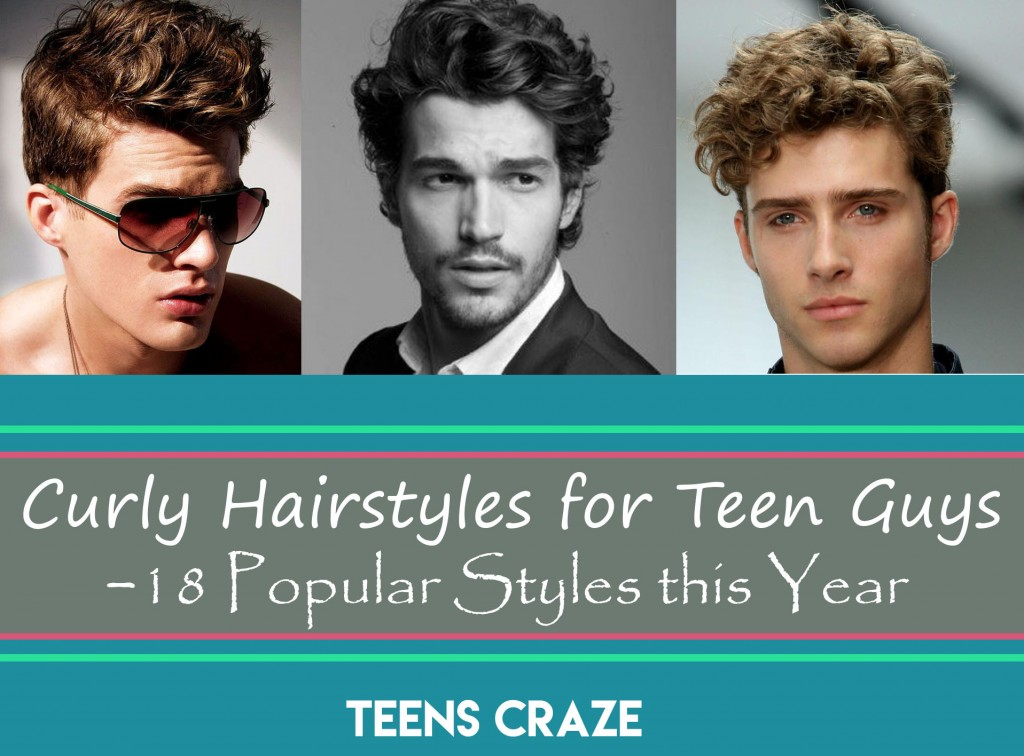 curly hair for teen boys this year