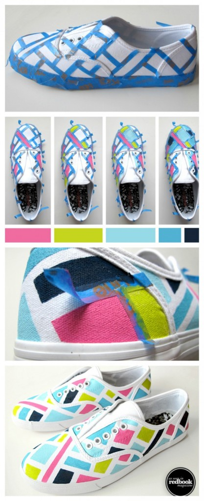 #4 - Color Blocked Sneakers
