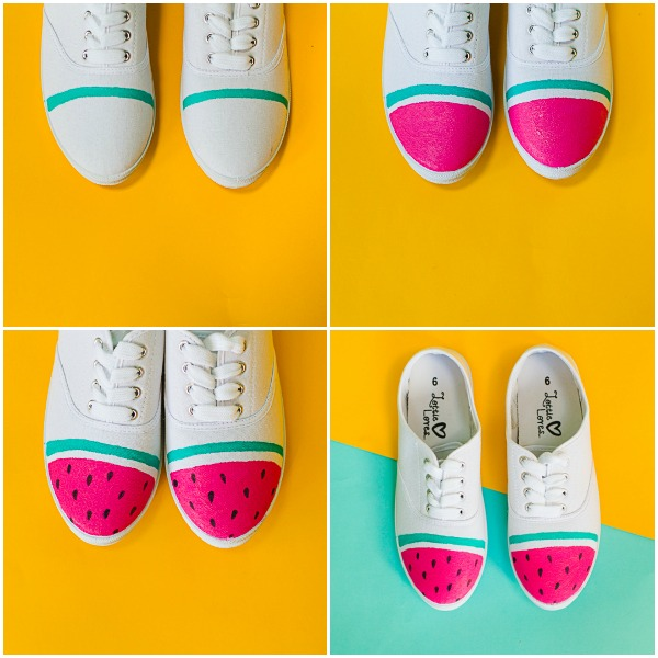 #7 - Water Melon Sneakers
