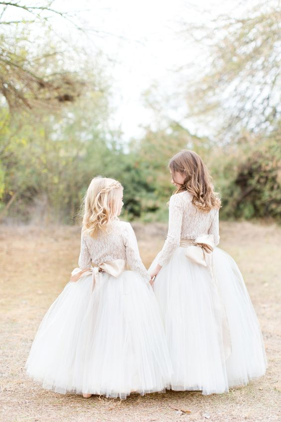 tutu skirts and lace blouses