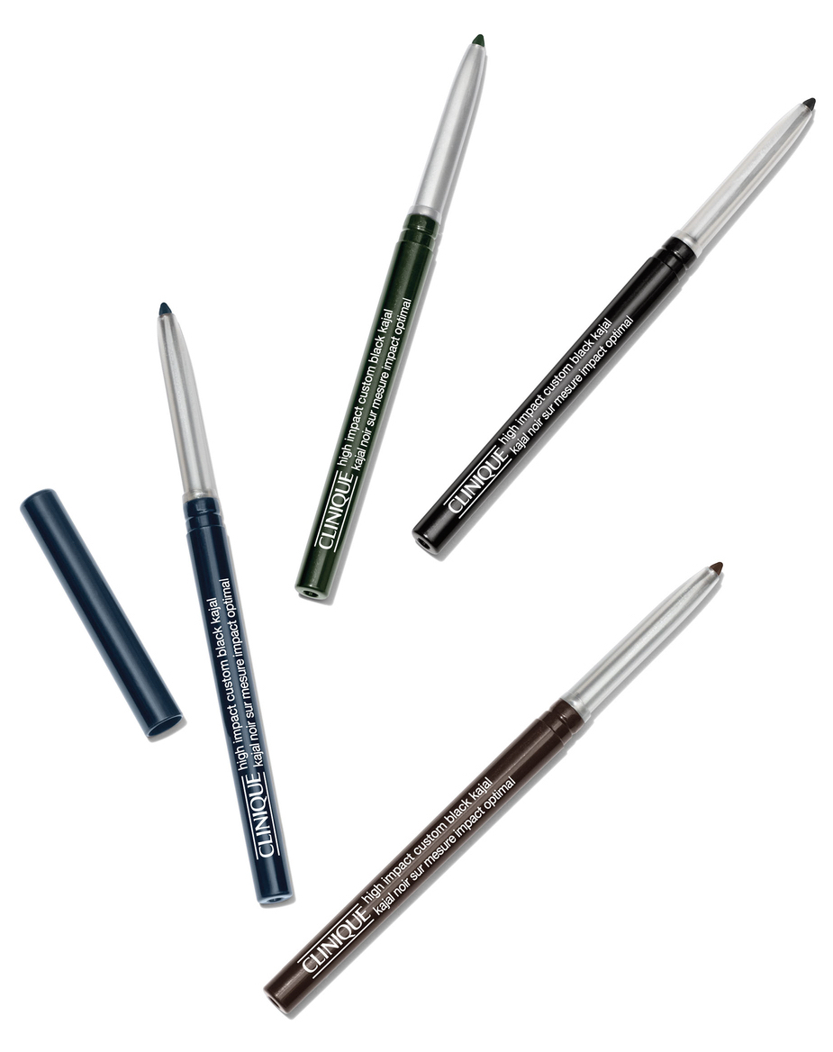 Clinique High Impact Custom Black Kajal pencil eyeliners