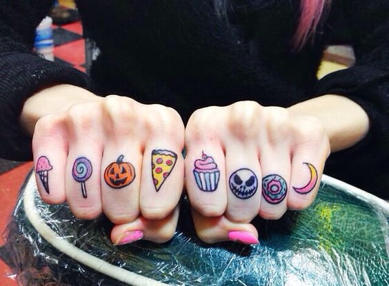 #6 - Food Love Tattoos