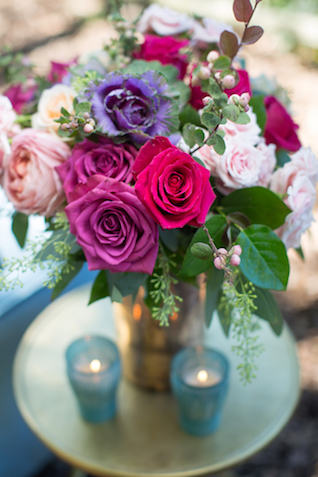 Jewel-toned roses | Grant & Deb Photographers