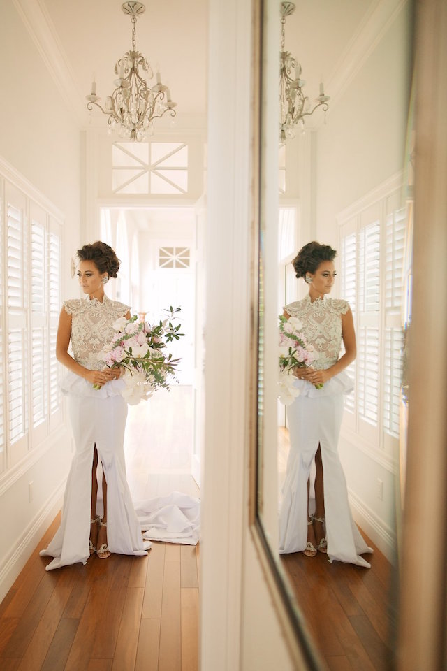Couture wedding dress | Anna Kim Photography