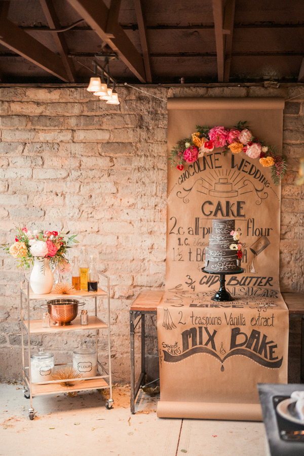 whimsical weddings - photo by Gideon Photography http://ruffledblog.com/artist-chalkboard-inspired-wedding