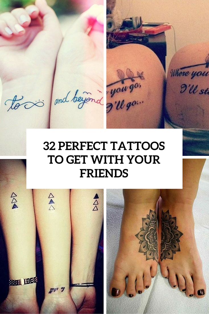perfect tattoos to get with your friends cover