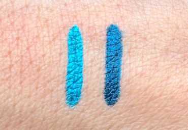 SheaMoisture Ultra Smooth Long Wear Eye Pencil Teal and Turquoise swatches