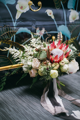 Bouquet with king protea | Alena Plaks
