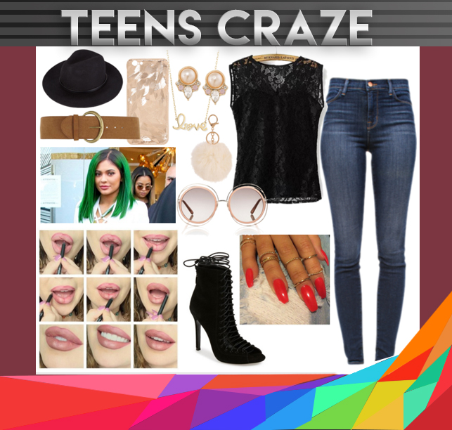 #1 - Kylie-inspired Fashion Outfit