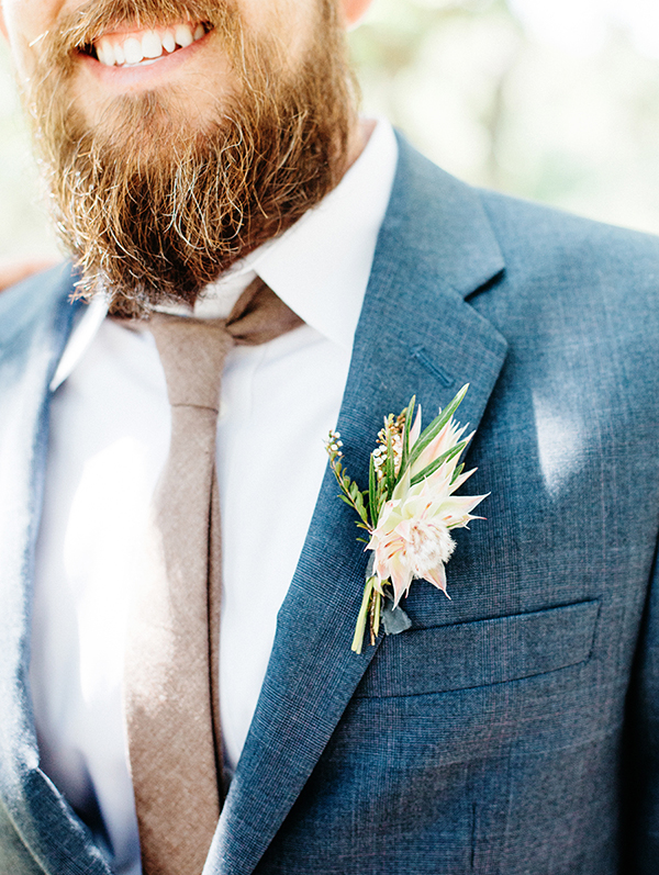 boutonnieres - photo by Veronica Ellerman Photography http://ruffledblog.com/vibrant-bohemian-wedding-inspiration