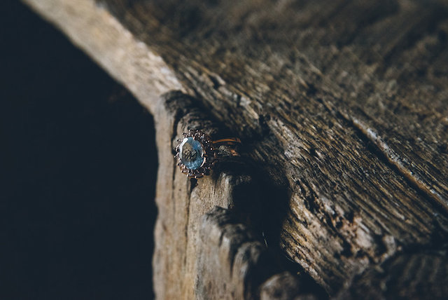 Unique geode-inspired ring | Ed & Aileen Photography