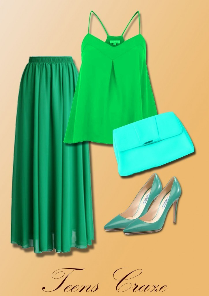 #5 - Green and Gorgeous