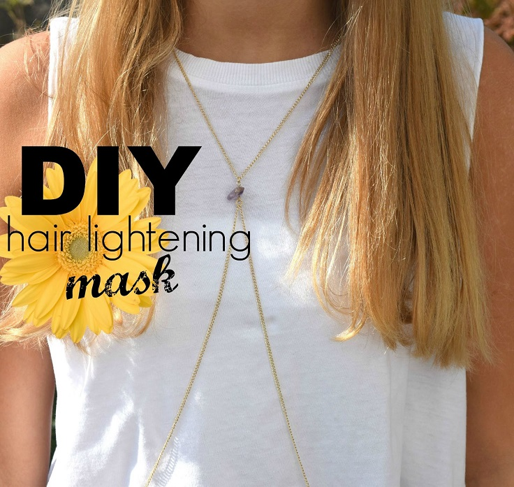 When it comes to DIY, everything is possible - even lightening your hair without using any chemical products. If you haven't tried it by now, yet you want a lighter version of your hair, then you should definitely give it a try. #diy