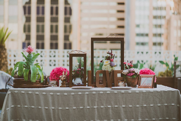 Wedding Tablescape - Cristina Navarro Photography