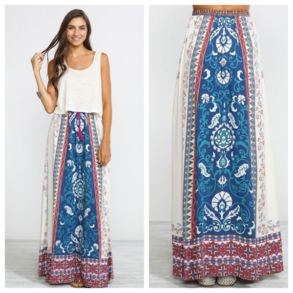 deas How to Wear Hippie Skirts. (7)