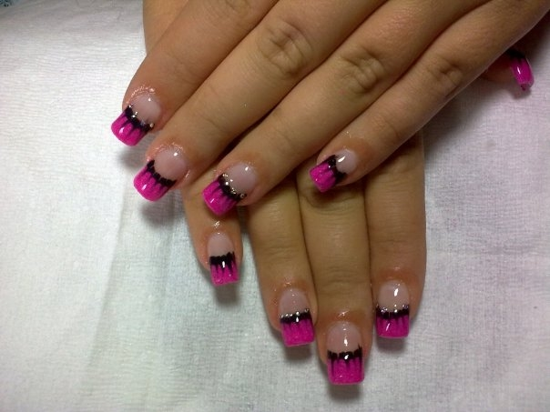 best funky nail art designs for girls (7)