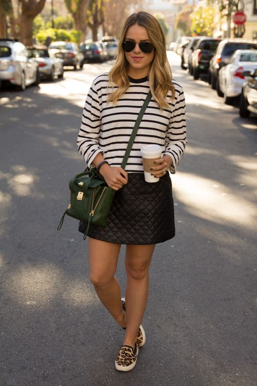 Cute Outfit Ideas To Wear With Slip-On Sneakers (22)