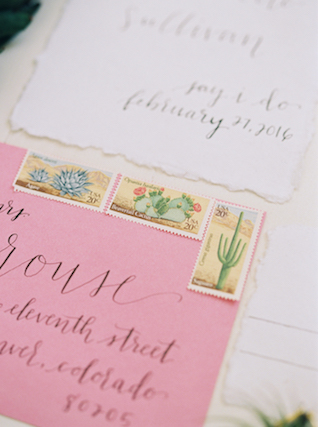 Cactus stamps | Abigail Malone