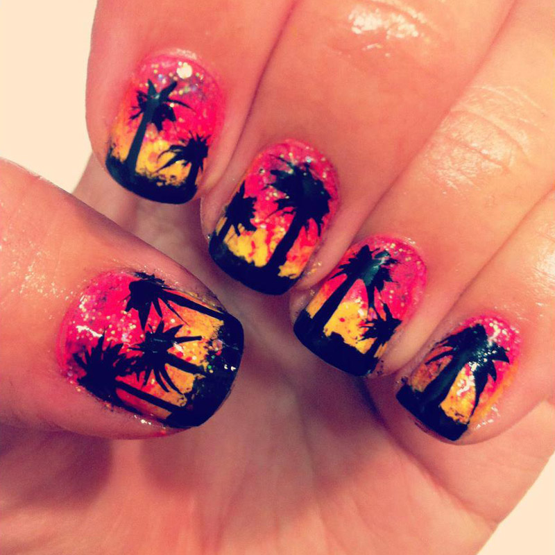 best funky nail art designs for girls (32)