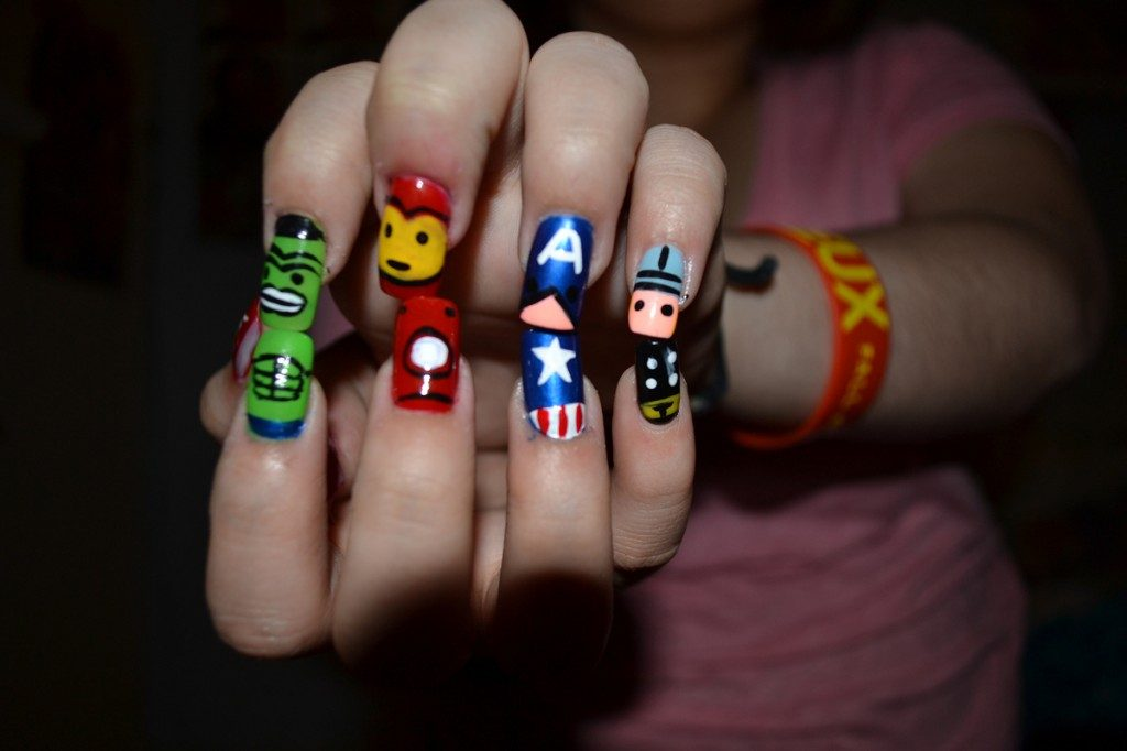 best funky nail art designs for girls (42)