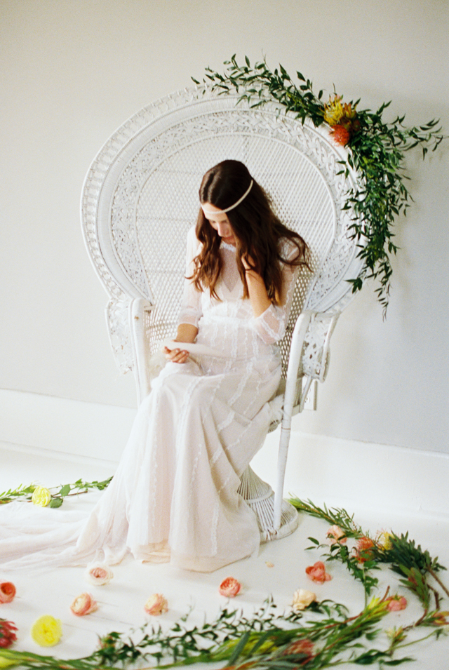 Aztec themed bridal session | Abigail Malone