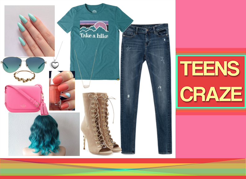 #3 - The Bluish Ripped Jeans Swag