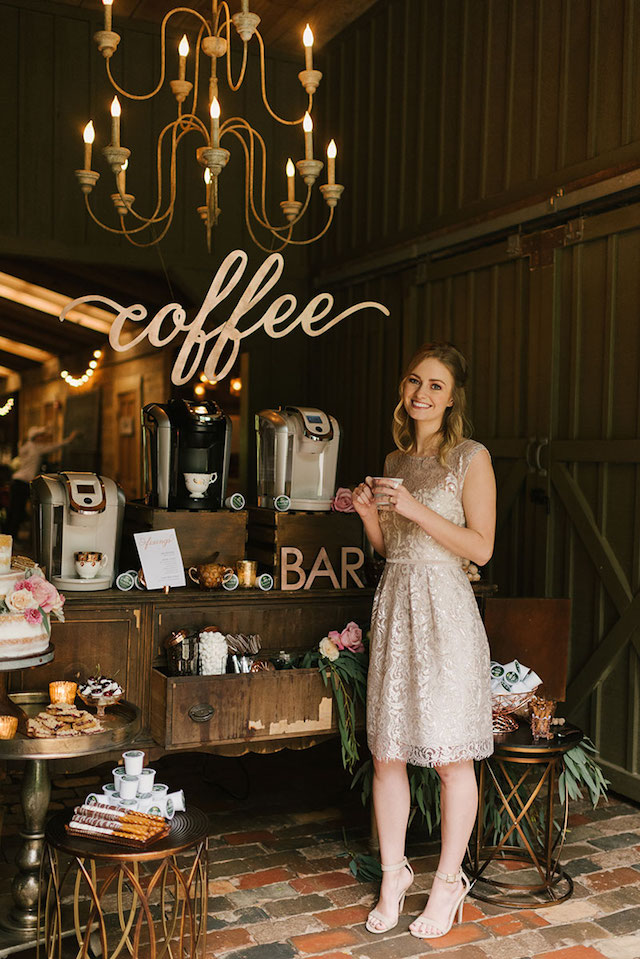 Coffee station styling ideas | Lauren Rae Photography