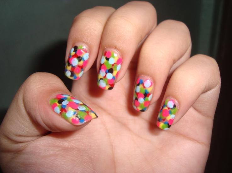 best funky nail art designs for girls (6)