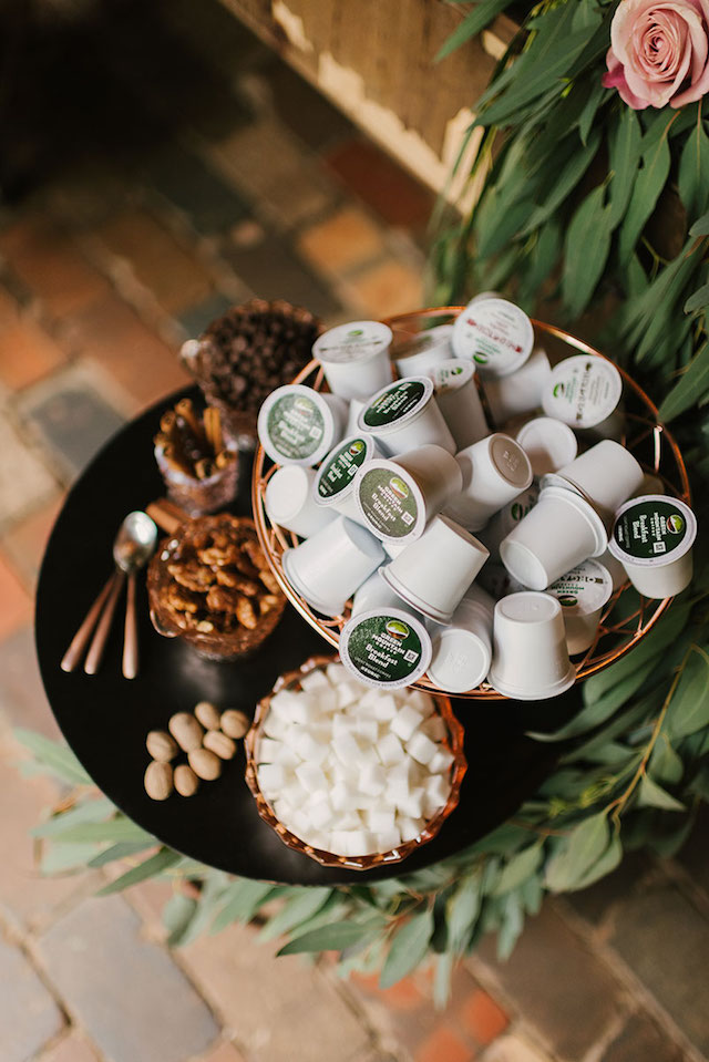 Coffee-themed wedding ideas | Lauren Rae Photography
