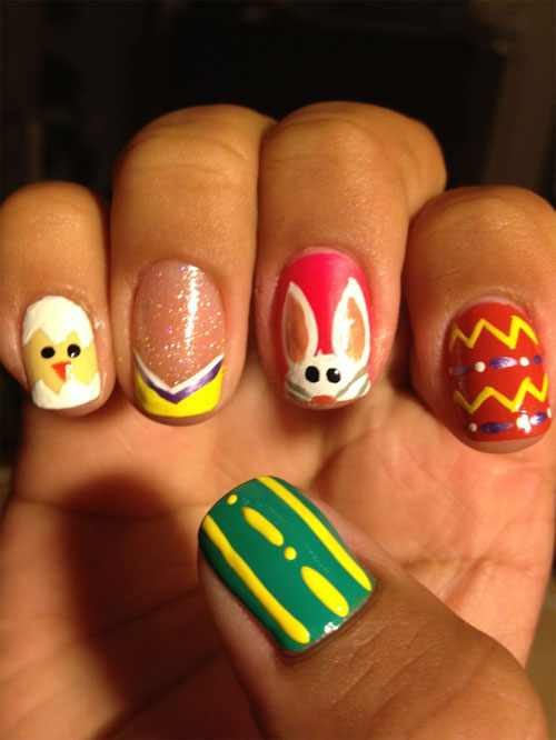 best funky nail art designs for girls (26)