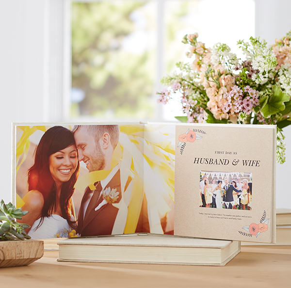 shutterfly wedding photo book affordable premium quality easy to diy wedding album alternative
