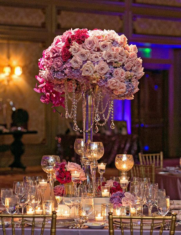 Wedding Centerpiece - Blush Botanicals
