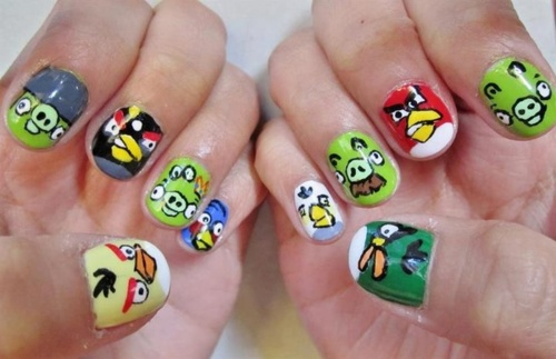 best funky nail art designs for girls (37)