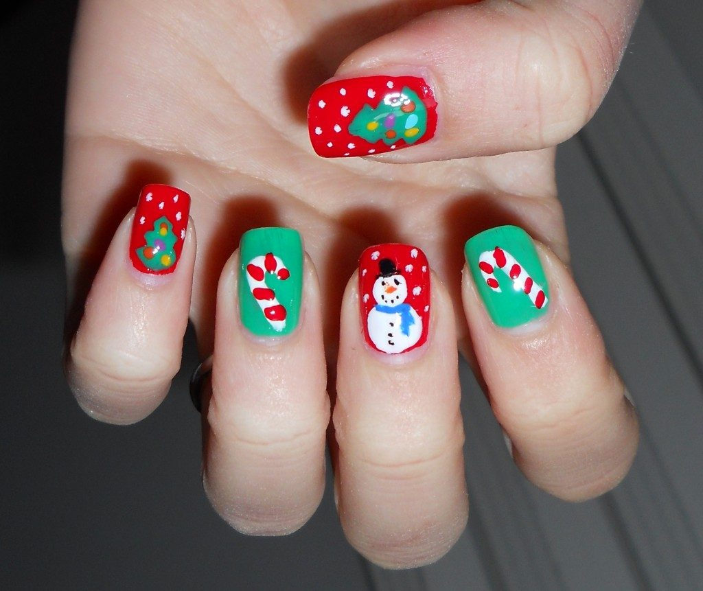 best funky nail art designs for girls (2)