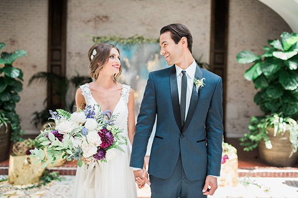 wedding fashion - photo by Jillian Rose Photography http://ruffledblog.com/romantic-wedding-ideas-with-pops-of-jewel-tones