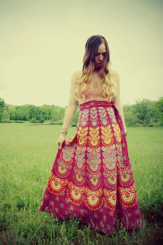 deas How to Wear Hippie Skirts. (4)