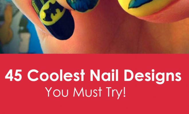 Funky Nail Art Ideas 45 Coolest Nail Desings You Must Try Beauty