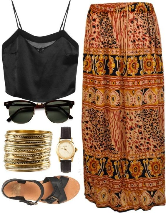 Gypsy Skirts Outfits (9)