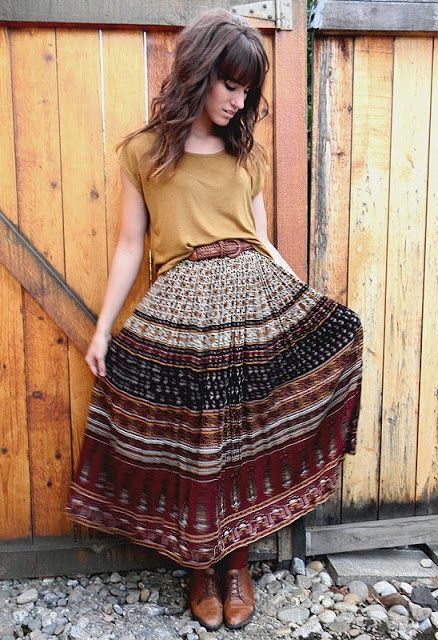 Gypsy Skirts Outfits (4)