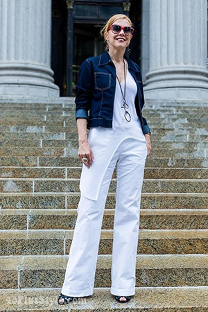 How to Wear White Wide Leg Pants (5)