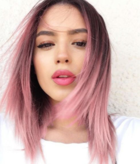 #7 - The Coolest Pink Ombre Hairstyle