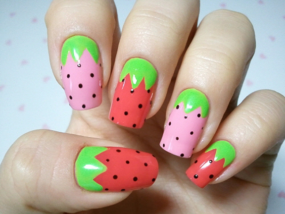 best funky nail art designs for girls (1)