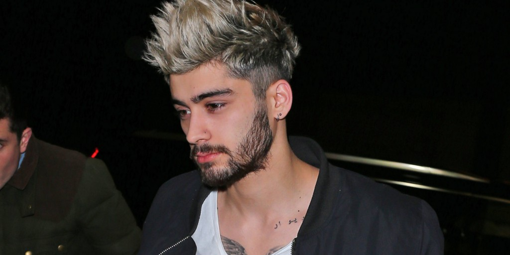 Gigi Hadid and Zayn Malik return to their hotel in NYC Pictured: Zayn Malik Ref: SPL1203564 050116 Picture by: Jackson Lee / Splash News Splash News and Pictures Los Angeles: 310-821-2666 New York: 212-619-2666 London: 870-934-2666 photodesk@splashnews.com