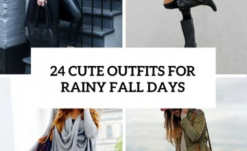 cute outfits for rainy fall days cover