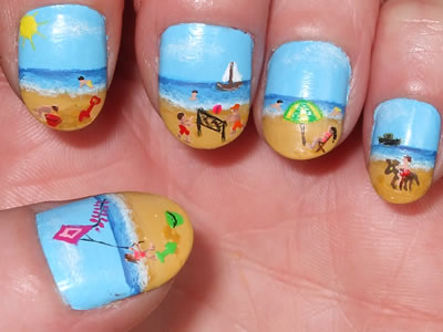 best funky nail art designs for girls (30)