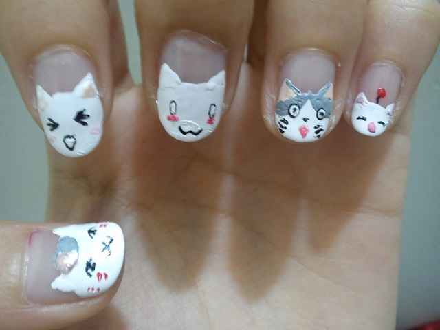 best funky nail art designs for girls (21)